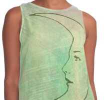 La Luna - The Moon - Tarot Contrast Tank