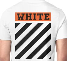 Off-White Orange & Diagonal Stripes Unisex T-Shirt