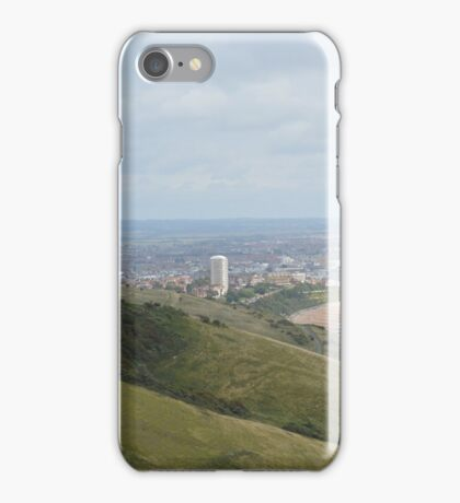 EASTBOURNE HIGH UP ON BEACHY HEAD iPhone Case/Skin