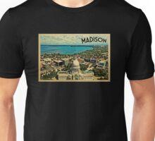 Madison Vintage Travel T-shirt Unisex T-Shirt