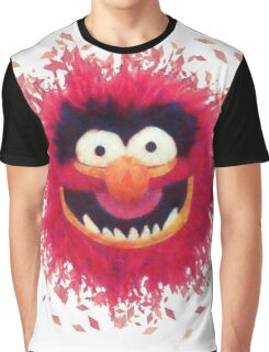 Muppets - Animal Graphic T-Shirt