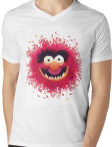 Muppets - Animal Mens V-Neck T-Shirt