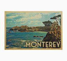 Monterey Vintage Travel T-shirt One Piece - Short Sleeve