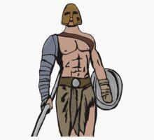 Armed gladiator Kids Tee