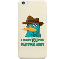 Perry's Army iPhone Case/Skin