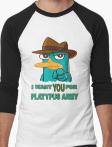 Perry's Army Men's Baseball ¾ T-Shirt