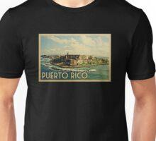 Puerto Rico Vintage Travel T-shirt Unisex T-Shirt