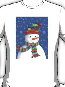 Cute highly detailed snowman T-Shirt