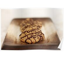 Nutty Drizzle Cookies Poster