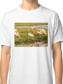 Busy morning on the Chobe Classic T-Shirt