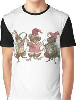 Clown Mice Graphic T-Shirt