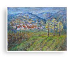 November landscape Canvas Print