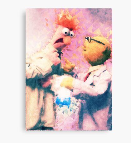 Beaker & Bunsen Canvas Print