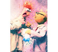 Beaker & Bunsen Photographic Print