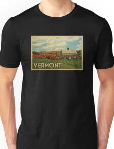 Vermont Vintage Travel T-shirt Unisex T-Shirt