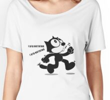 Cat Feliz happy Women's Relaxed Fit T-Shirt