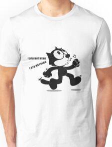 Cat Feliz happy Unisex T-Shirt
