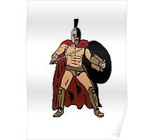 Leonida gladiator Poster