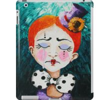 Le clown au noeud papillon - Ginger Clown with a Bow iPad Case/Skin