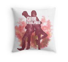 Come along, Pond Throw Pillow