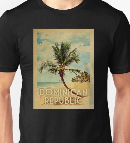 Dominican Republic Vintage Travel T-shirt Beach Unisex T-Shirt