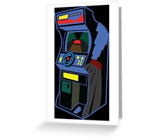 Gaming cabinet Greeting Card