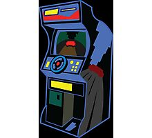 Gaming cabinet Photographic Print