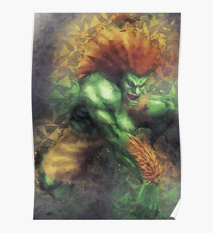 Street Fighter 2 - Blanka Poster