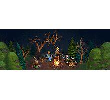 Palm Kingdoms III - Campfire Photographic Print
