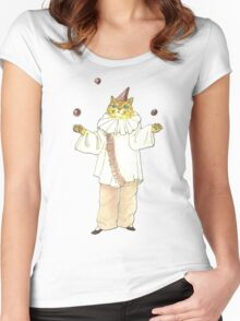 Clown Cat Women's Fitted Scoop T-Shirt