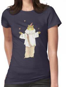 Clown Cat Womens Fitted T-Shirt