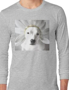 Pittie Flower Long Sleeve T-Shirt