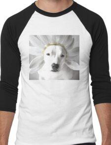 Pittie Flower Men's Baseball ¾ T-Shirt