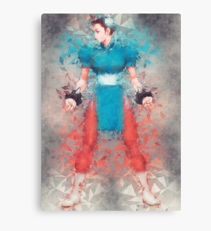 Street Fighter 2 - Chung Le Canvas Print