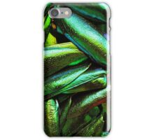 Metallic wings texture iPhone Case/Skin