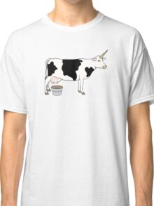 Magical Unicorn Dairy Milk Cow Classic T-Shirt