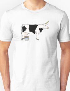 Magical Unicorn Dairy Milk Cow Unisex T-Shirt