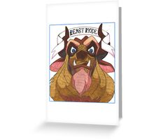 Disney's Beast - Beast Mode Greeting Card