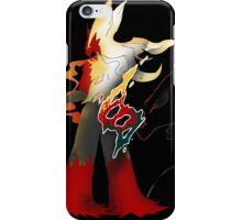 Pokemon Blaziken - Fire Fight Power iPhone Case/Skin