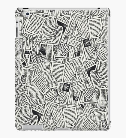Book Pages iPad Case/Skin