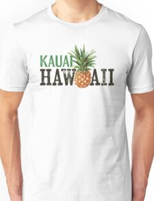 Kauai T-shirt - Vintage Hawaii Pineapple Unisex T-Shirt