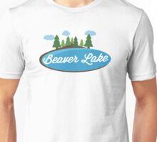 Beaver Lake T-shirt - Cute Nature Unisex T-Shirt