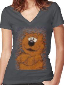 Heathcliff  Women's Fitted V-Neck T-Shirt