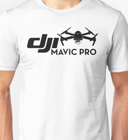 DJI Mavic professional Drone Black Unisex T-Shirt
