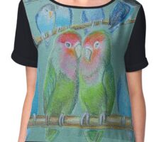 Lovebirds Chiffon Top