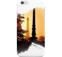 Paris Sunset - Capital - France iPhone Case/Skin