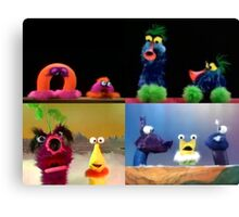Funny Critters! Canvas Print