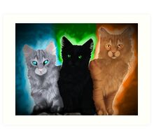 Warrior cats - Power of Three Art Print