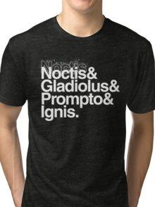 FFXV Helvetica Tri-blend T-Shirt