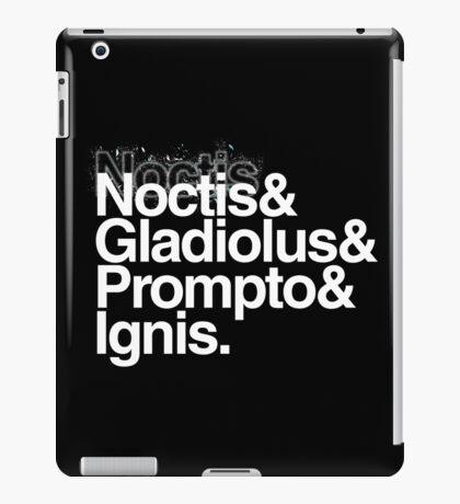 FFXV Helvetica iPad Case/Skin
